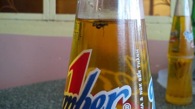 Con ruồi giá 500 triệu trong chai nước number one của Tân Hiệp Phát