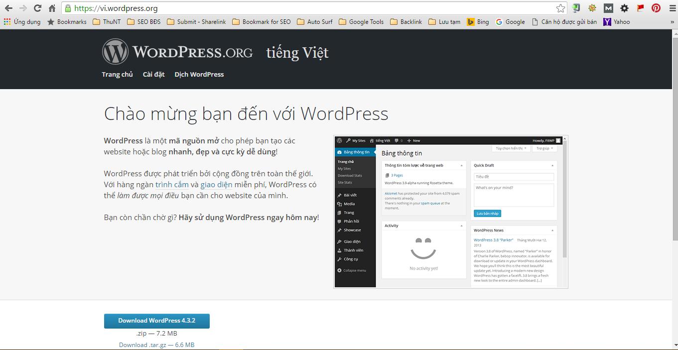 vi-wordpress-org trang download wordpress
