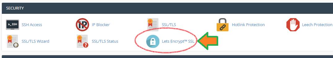 Hướng dẫn cài đặt Let's Encrypt SSL miễn phí trong cPanel
