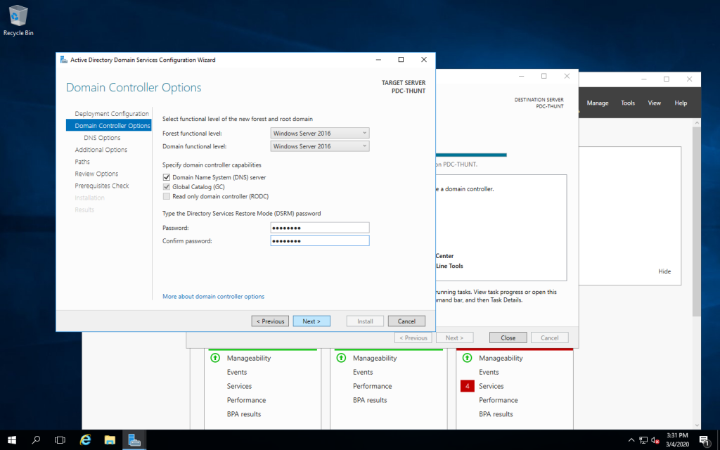 Xây dựng Domain Controller trên Windows Server 2016/2012/2008/2003