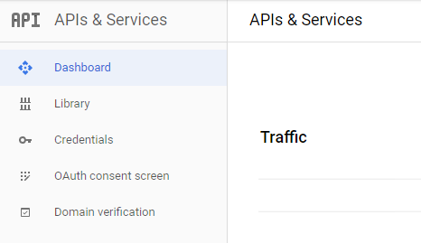 Trang Credentials trong APIs & Services