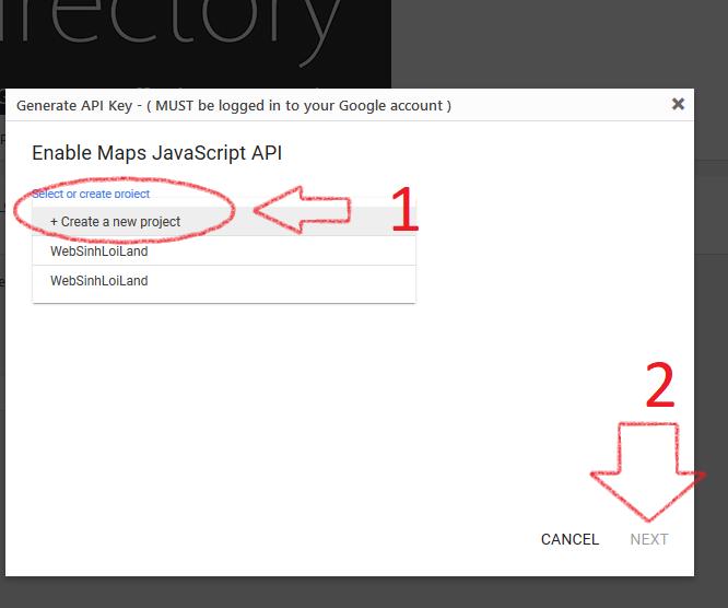 Hướng dẫn fix lỗi thiếu API KEY Google Maps không tải đúng cách
