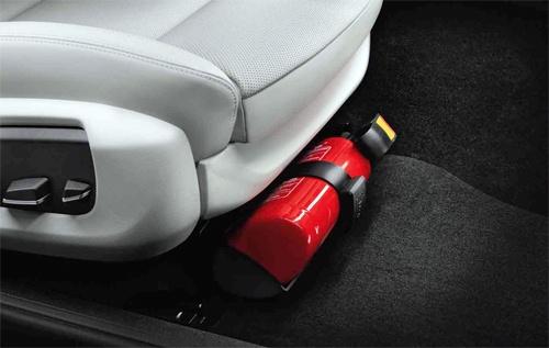 Nên đặt bình chữa cháy ở đâu trong ôtô để không bị nổ?
