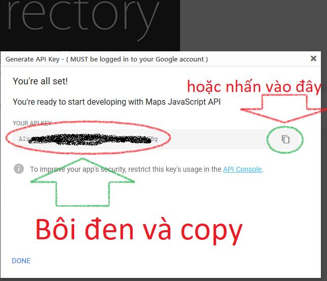 Hướng dẫn fix lỗi thiếu API KEY Google Maps không tải đúng